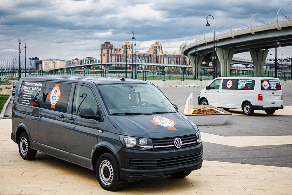 Автомобили для междугородних перевозок больных