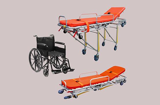 Оборудование для перевозки больных